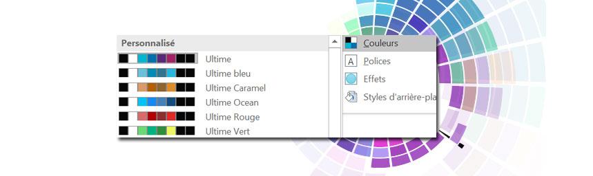 palette couleurs powerpoint