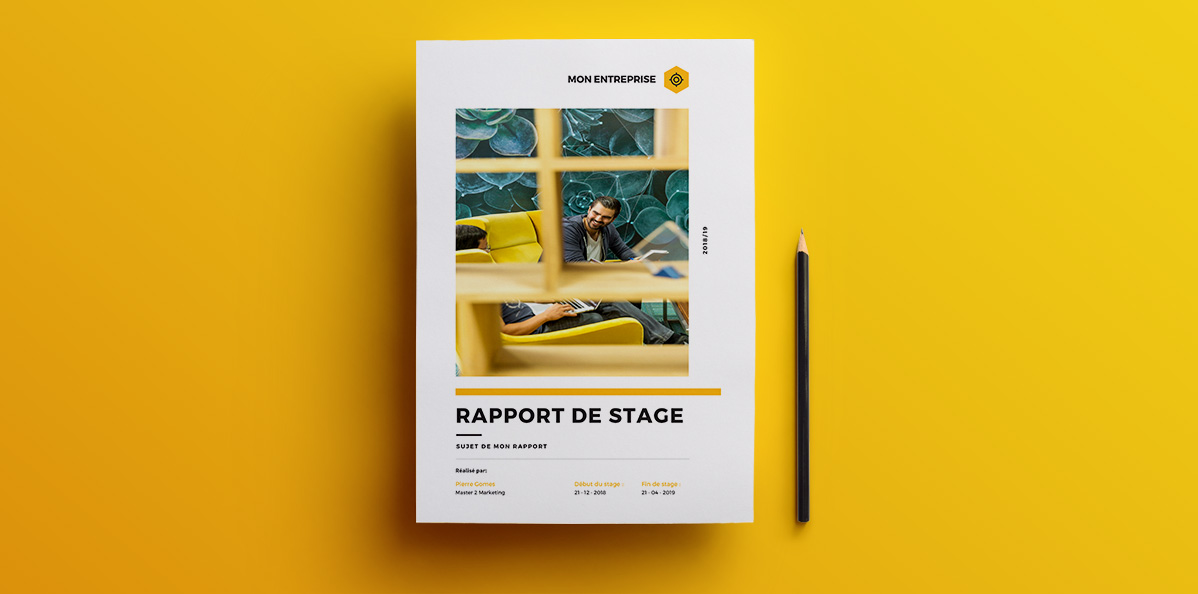 rapport de stage exemple word