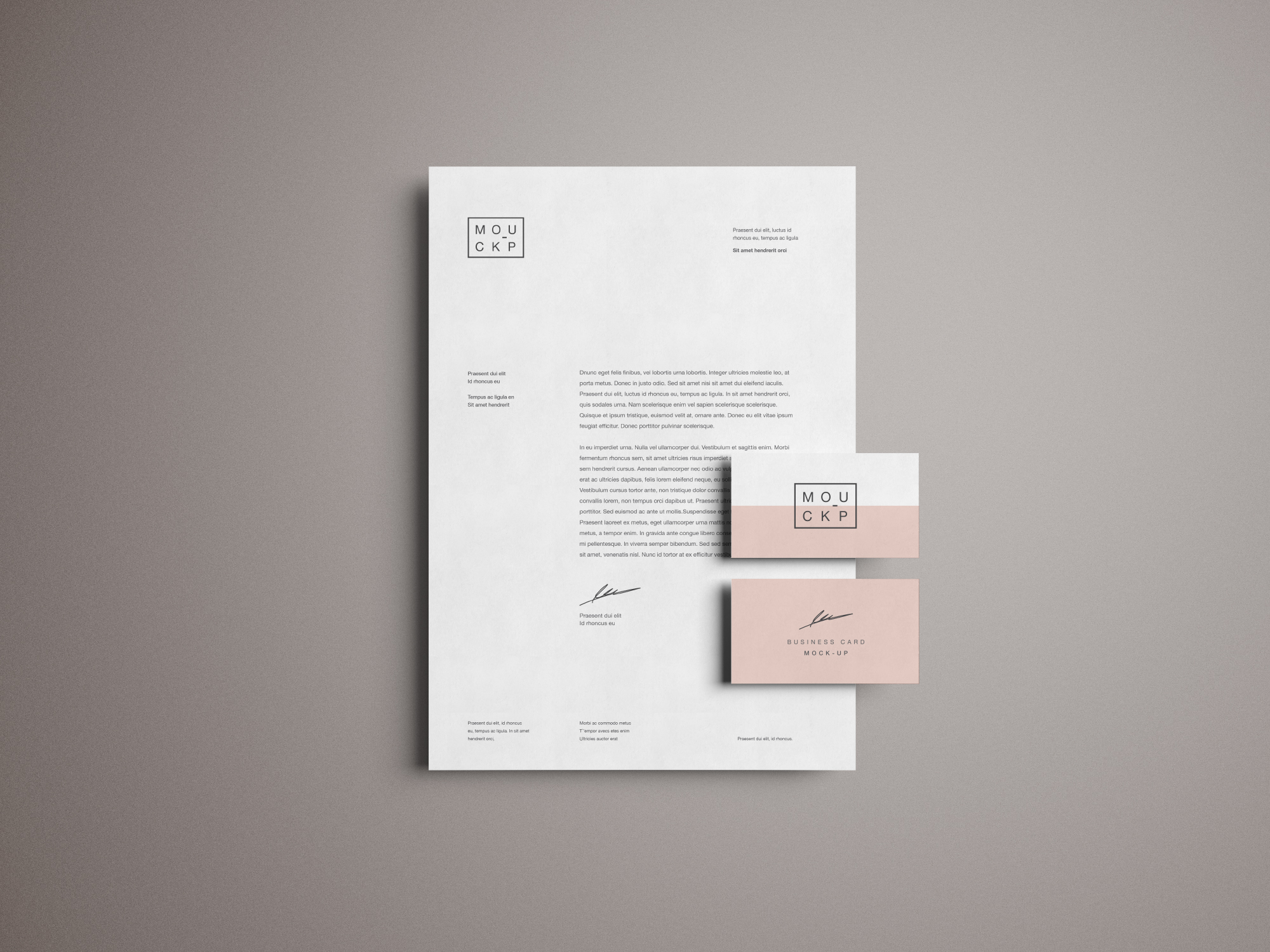 Advanced Branding Amp Stationery Psd Mockup