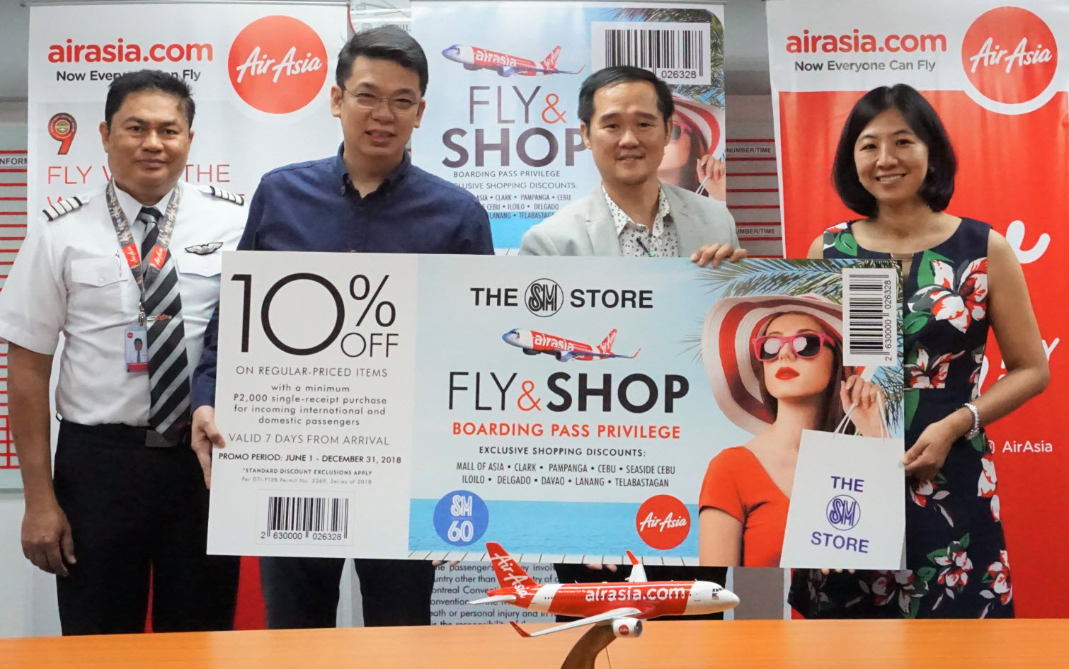 Airasia Guests Get Special Discounts At Sm Stores The Mermaid Travels Jakarta Singapore