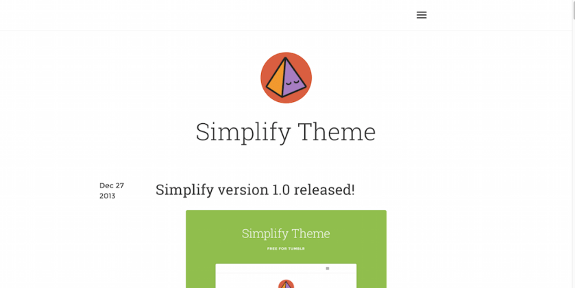 Simplify Theme