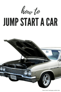 Having jumper cables in your car is a good idea, but not knowing how to use them... not so good.  If you know how to use them then anyone can help you with a vehicle that works.  Learn in under 10 min how to jump start a car so you can be prepared next time the battery dies.