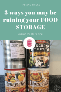 Do you hold off on purchasing food storage because you're worried you'll do it all wrong?  Read the 3 mistakes people make when buying food storage.