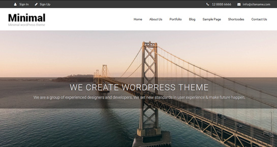 clean-minimal-wordpress-theme
