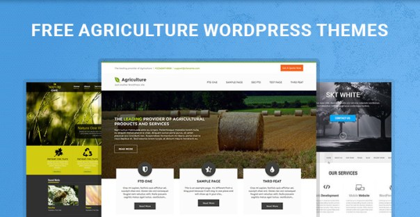 free agriculture WordPress themes