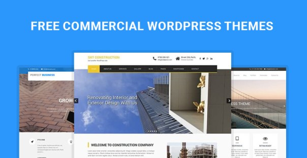 free commercial WordPress themes