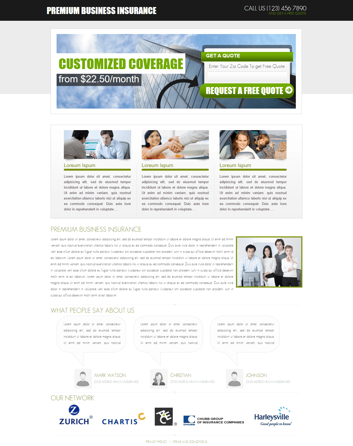 Never let this rare opportunity slip through your fingers. Business Insurance Template WordPress Theme Development Company Themesmill