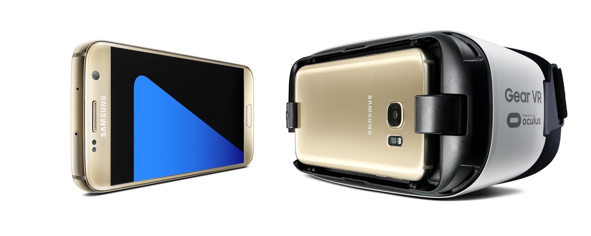 Samsung Galaxy S7 and Samsung Gear VR
