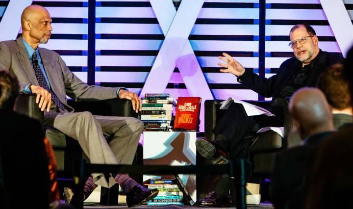 Tyler Cowen with Kareem Abdul-Jabbar