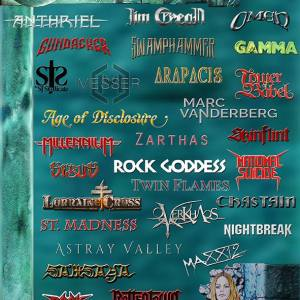 The Metal Mag nº18 July 2017 - Interviews with : Jim Crean , Koralyst , Anthriel , Age of Disclosure , Arapacis , Zarthas , Wraith , Tower of Babel ,Sibus ,Teri Stahl ,Rockin Drummers ,Cody Antill , Craig Martin ,Dan Buch ,Jeff Blackburn ,Kenn Youngar , Steve Wittig , Skinflint , St Madness , National Suicide , Maxx12 LLC ,Nightbreak ,Lorraine Cross ,Marc Vanderberg ,David T Chastain , Rock Goddess ,Astrey Valley , Samsaya , Heather Williams,Dark Ministry ,Millennium ,OverKhaos ,Rottentown ,Twin Flames