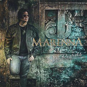"""Marenna : """"No regrets"""" CD 2016 Lions Pride Music."""