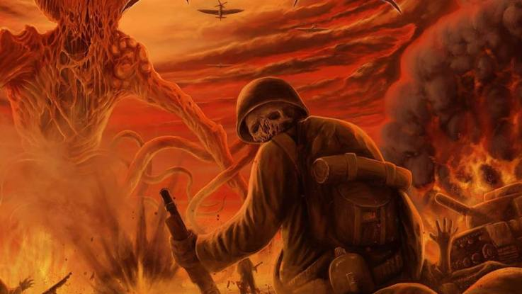 "Battlegrave : ""To Hell with War"" CD & Digital Self Release Winter 2017."