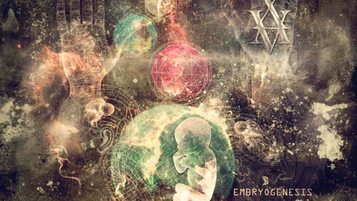 "Xavier Boscher :""Embryogenesis"" CD & Digital 24the November 2017 self release."