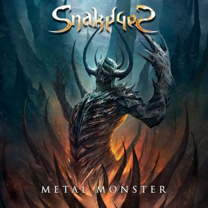 "SnakeyeS : "" Metal Monster "" CD & Digital 25th November 2017 self release."