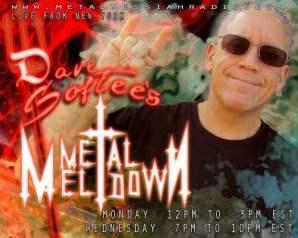 David Softee Kletzel - Metal Meltdown radio show on Metal Messiah Radio