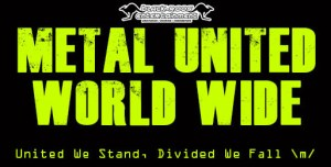 Metal-United-World-Wide : One date. One banner. Metal shows everywhere. Join us for Metal United \m/