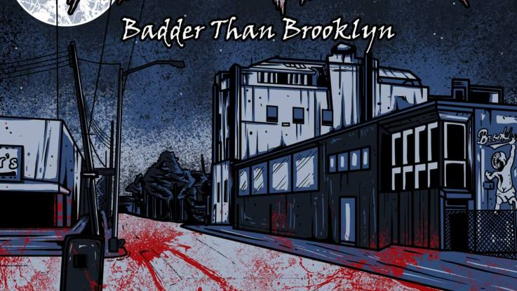 "Decatur : ""Badder Than Brooklyn"" CD & Digital 6th October 2017 Produced by Joe Duplantier."
