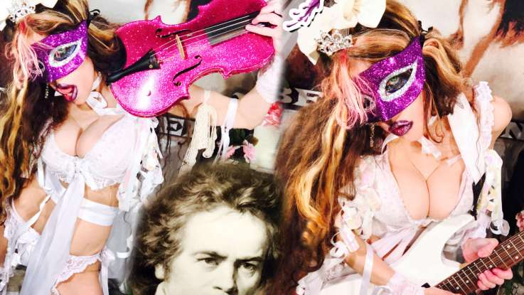"""The Great Kat : """"Beethoven's 5th Symphony """" Digital Single 22nd March 2018 TPR Music."""