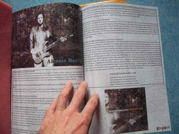 ©The Metal Mag N° 21 with Alessio Berlaffa