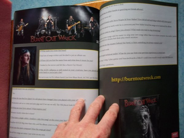 ©The Metal Mag N° 21 with Burnt Out Wreck