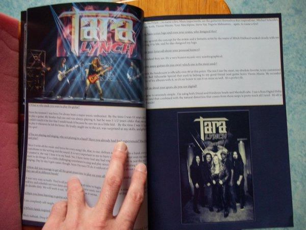 ©The Metal Mag N°20 with Tara Lynch