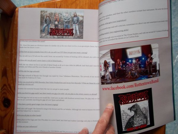 ©The Metal Mag Nº18 with Rottentown