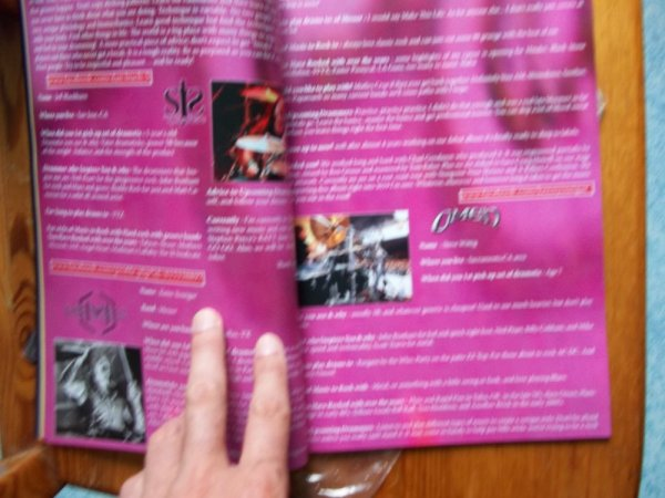 ©The Metal Mag Nº18 with Teri Stahl Rockin Drummer with Omen, Messer, Sj Syndicate