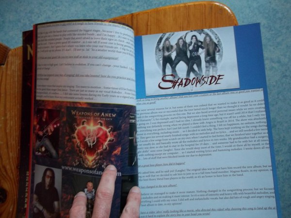 ©The Metal Mag N°19 with Weapons Of Anew and Shadowside