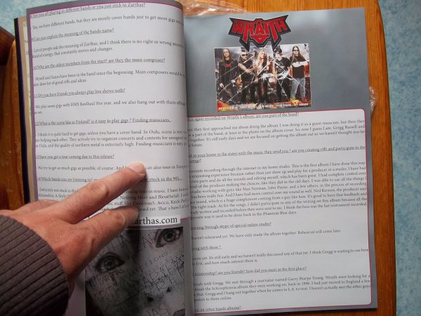 ©The Metal Mag Nº18 with Wraith