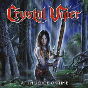 """Crystal Viper : """"At The Edge Of Time"""" 10'LP & Digital AFM Records."""