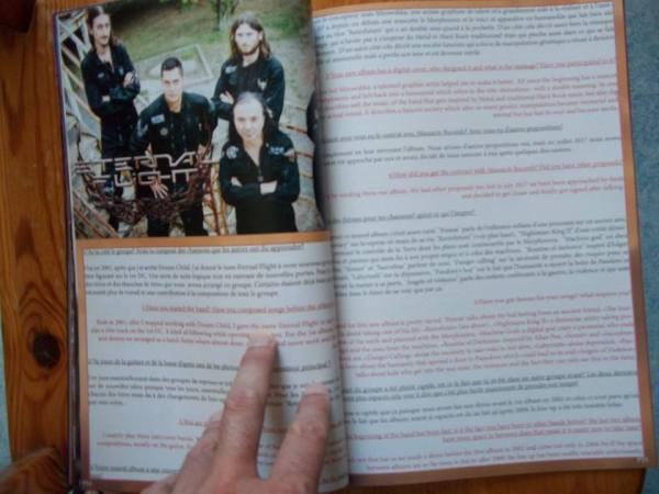 The Metal Mag N°23 with Eternal flight