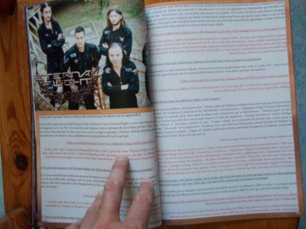 The Metal Mag N°23 with Eternal flight
