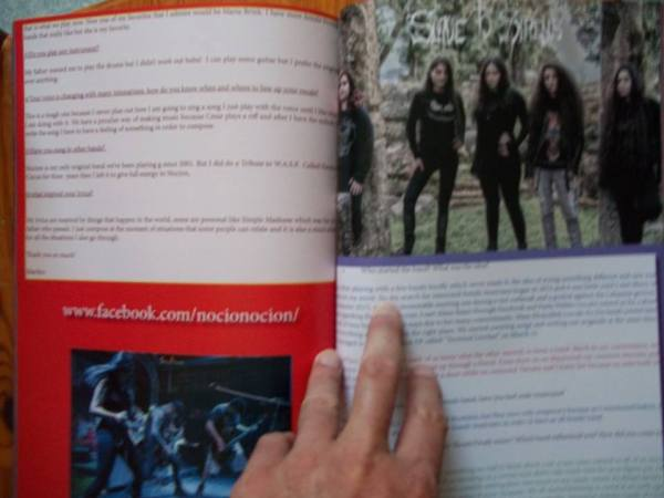 The Metal Mag N°23 with Nocion - Slave to the sirens