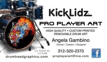 Pro Player Drumhead KickLidz