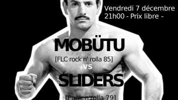Mobutu & Sliders live au club Autour de Minuit le 7 Décembre 2018 à La Rochelle par Rock Assault