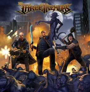 """The Three Tremors : """"Self Titled' CD 18th January 2019 Self Released."""