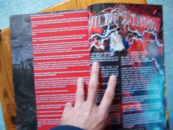 ©The Metal Mag N°2 with WildeStarr