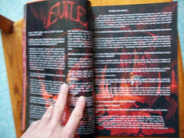 ©The Metal Mag N°1 with Evile