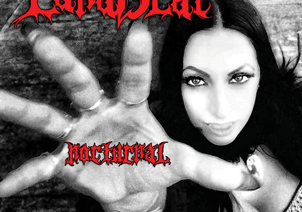 """Lanablac : """"Nocturnal"""" CD & Digital 19th October 2018 Cataclysm Records."""