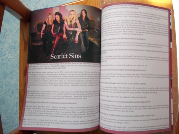 ©The Metal Mag N°28 with Scarlet Sins