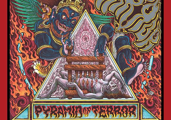 "Mirror : ""Pyramid of Terrror"" CD 28th June 2019 Bad Omen Records."