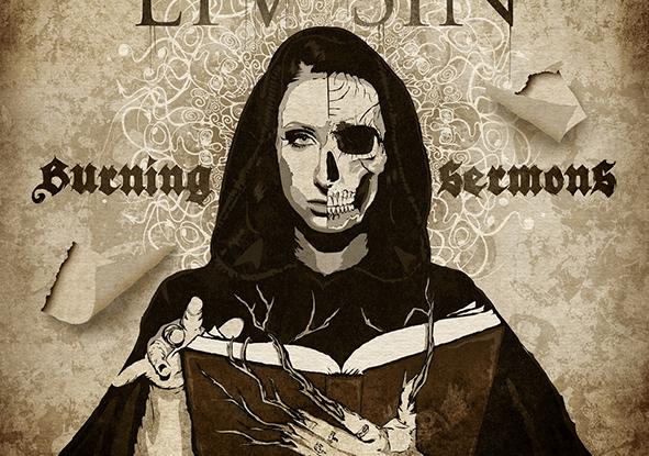 "Liv Sin : ""Burning Sermons"" CD & LP 6th September 2019 Despotz Records."
