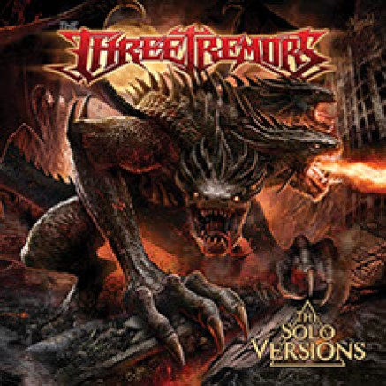 "The Three Tremors : ""The Solo Versions"" Digipack three CDS 15th November 2019 Steel Cartel Records."