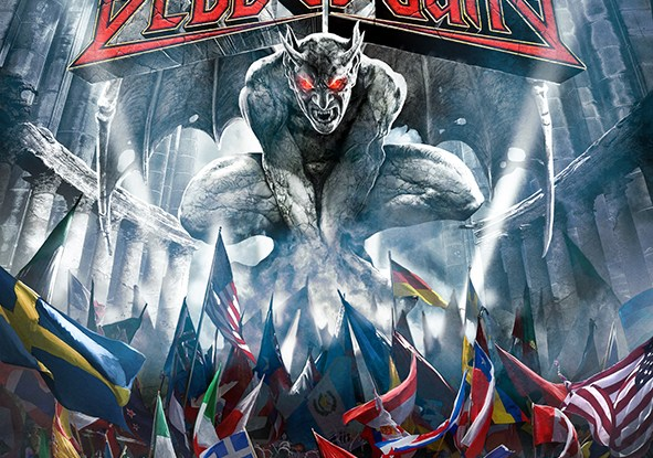 """BloodBound : """"Blodheads United"""" LP 17th April 2020 AFM Records."""