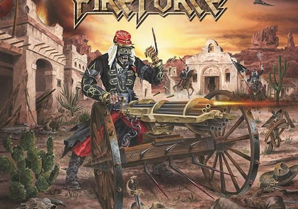 "Fireforce : ""Rage of War"" CD & LP 15th January 2021 Roar Records."