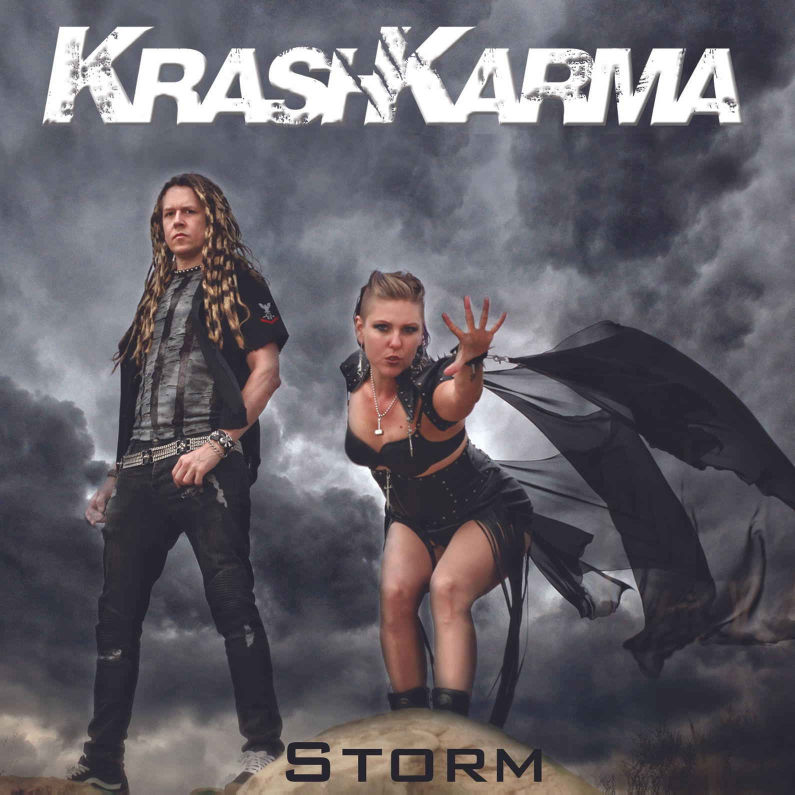 "KrashKarma : ""Storm"" CD & Digital July 9th 2021 Splitnail Records."