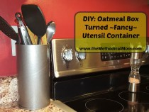 diy oatmeal utensil container
