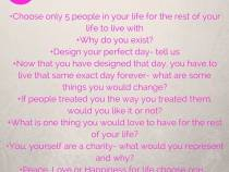 Life's questions tag