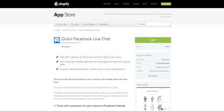 quick-facebook-live-chat-customer-service