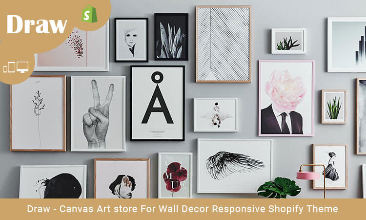 Draw - Canvas Art store For Wall Decor Responsive Shopify Theme ...